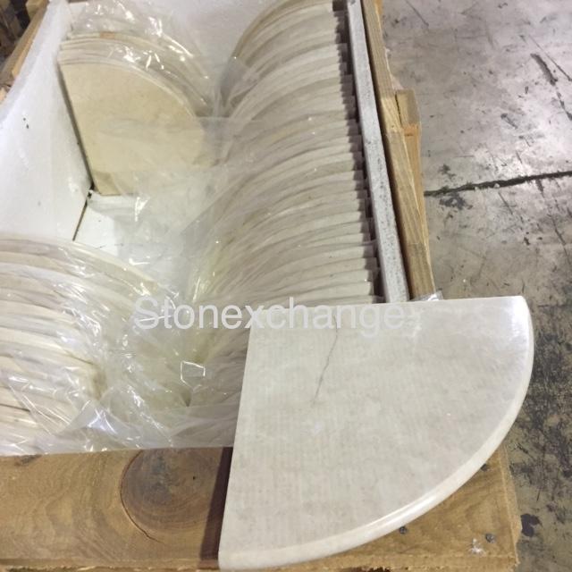 Crema Marfil Soap Shelf U2013 Shower Caddy 9u201d