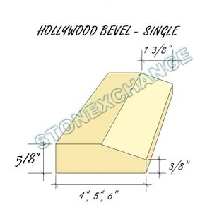 Hollywood Single Bevel Drawing