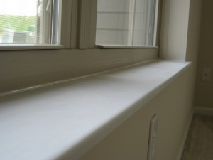 stone window sill