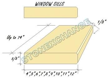 Window Sills Dimensions