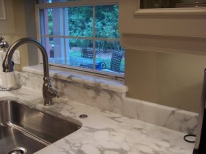 replacing marble windowsills