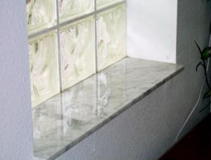 stone window sills