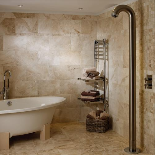 Ideas for using marble bathroom tile design stonexchange for Bathroom ideas marble tile