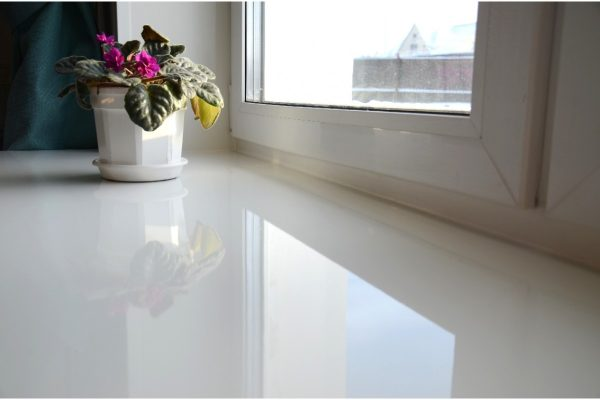 White Window Sill