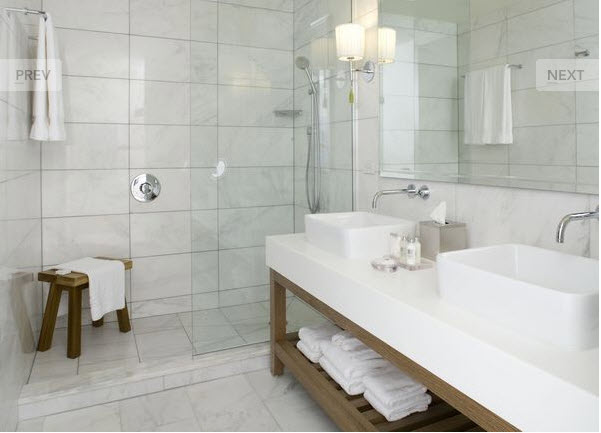 Thassos White Marble Window Sills Distributor In Miami - Thassos white marble bathroom