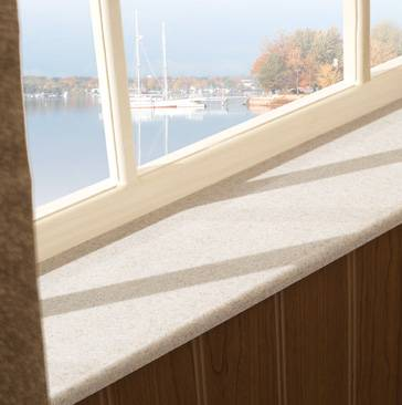 how to put in a window sill