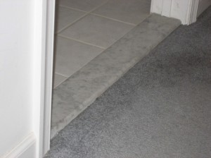 Marble Door Threshold