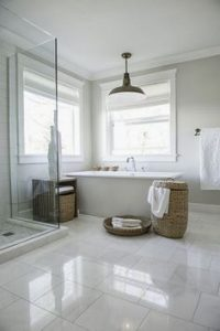 White Marble For Bathroom