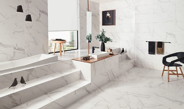 Neutral Marble Color to Maintain Easily