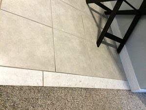 Seamless Marble Door Threshold