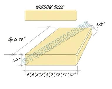 3 Luxury Natural Stone Windowsills Benefits for Home Contractors