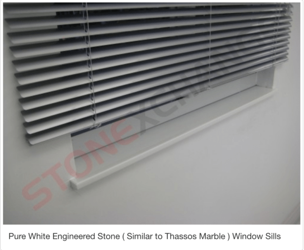 Pure White Window Sills