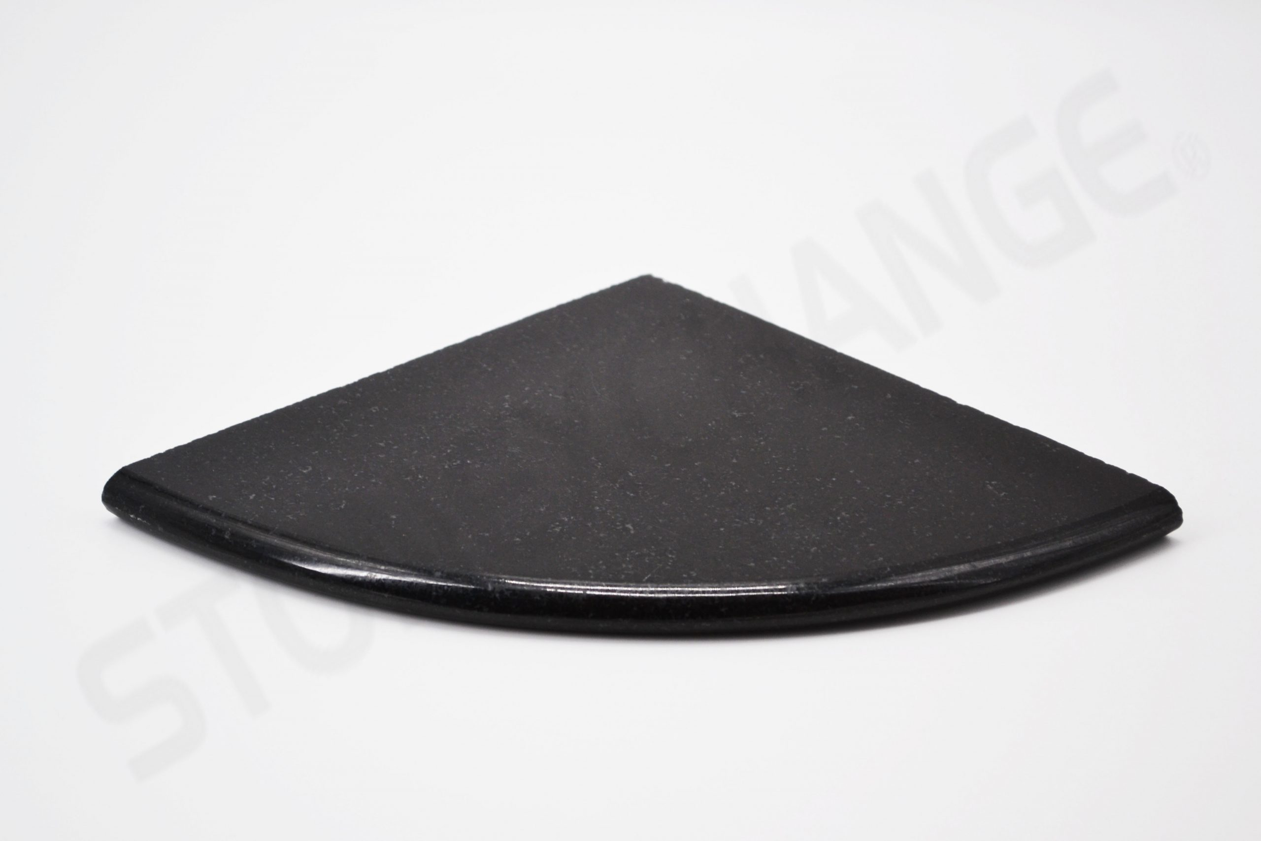 Absolute Black Granite Corner Shelf Shower Caddy