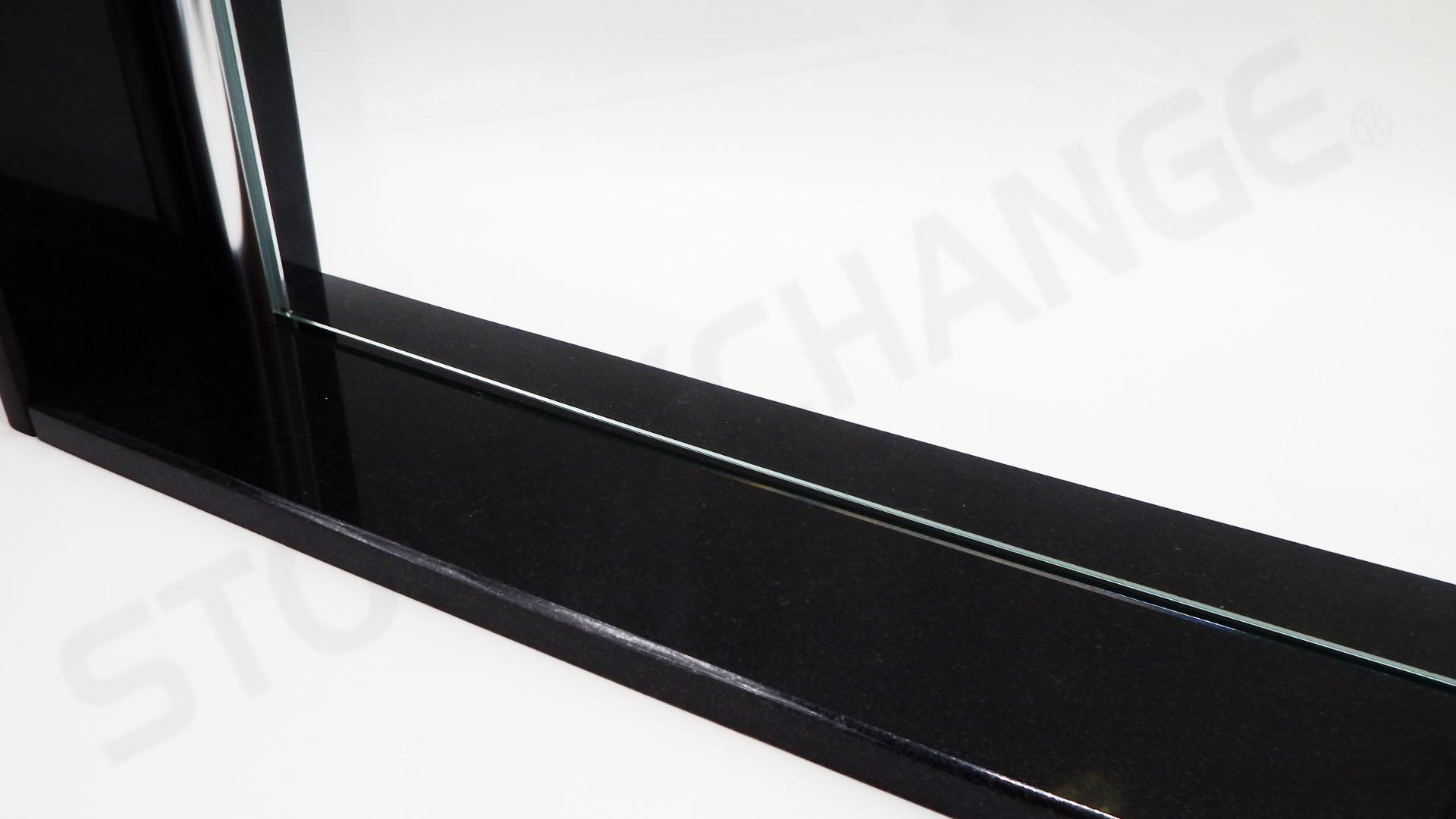 Absolute Black Granite Shower Curb