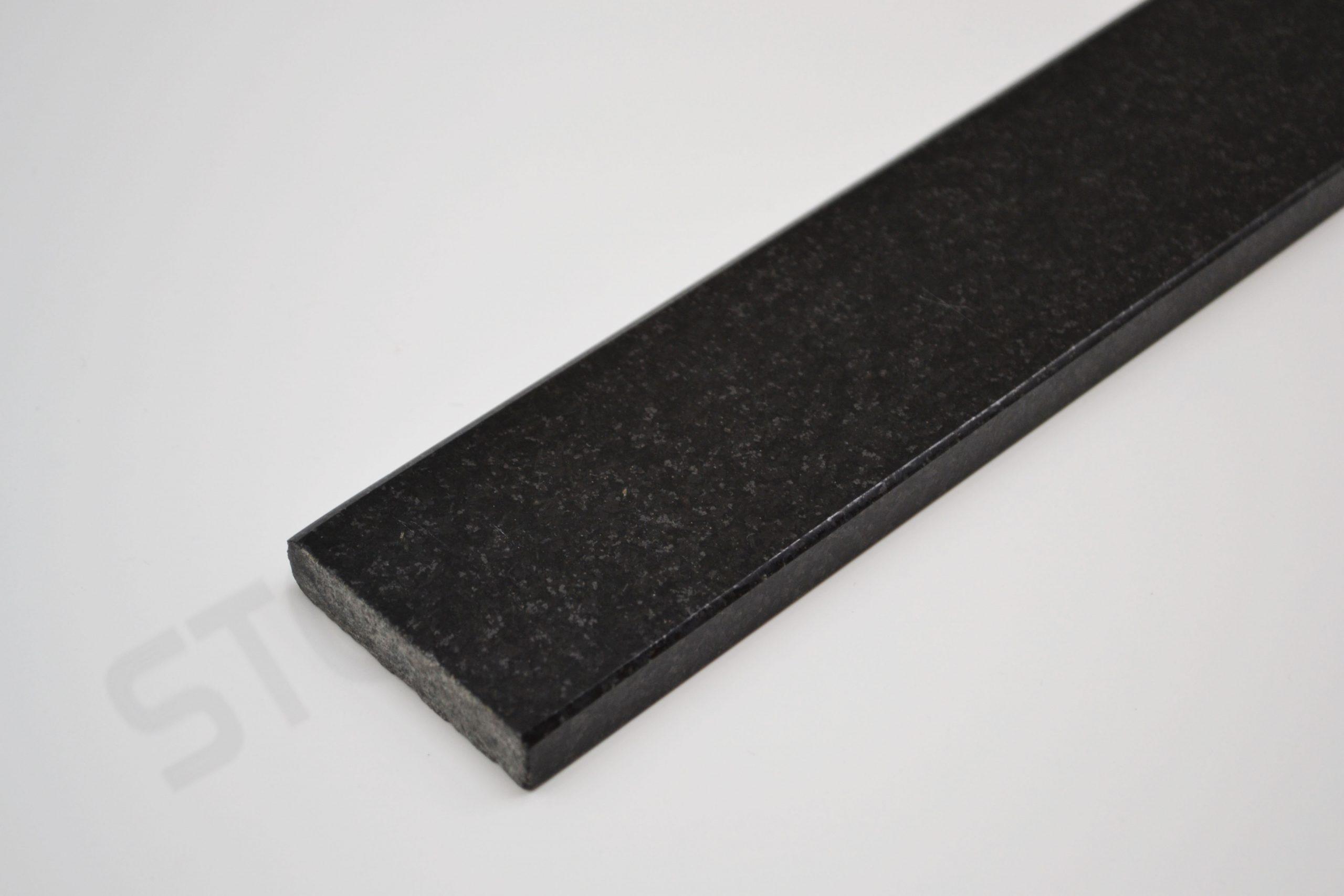 Absolute Black Granite Thresholds Standard Double Bevel