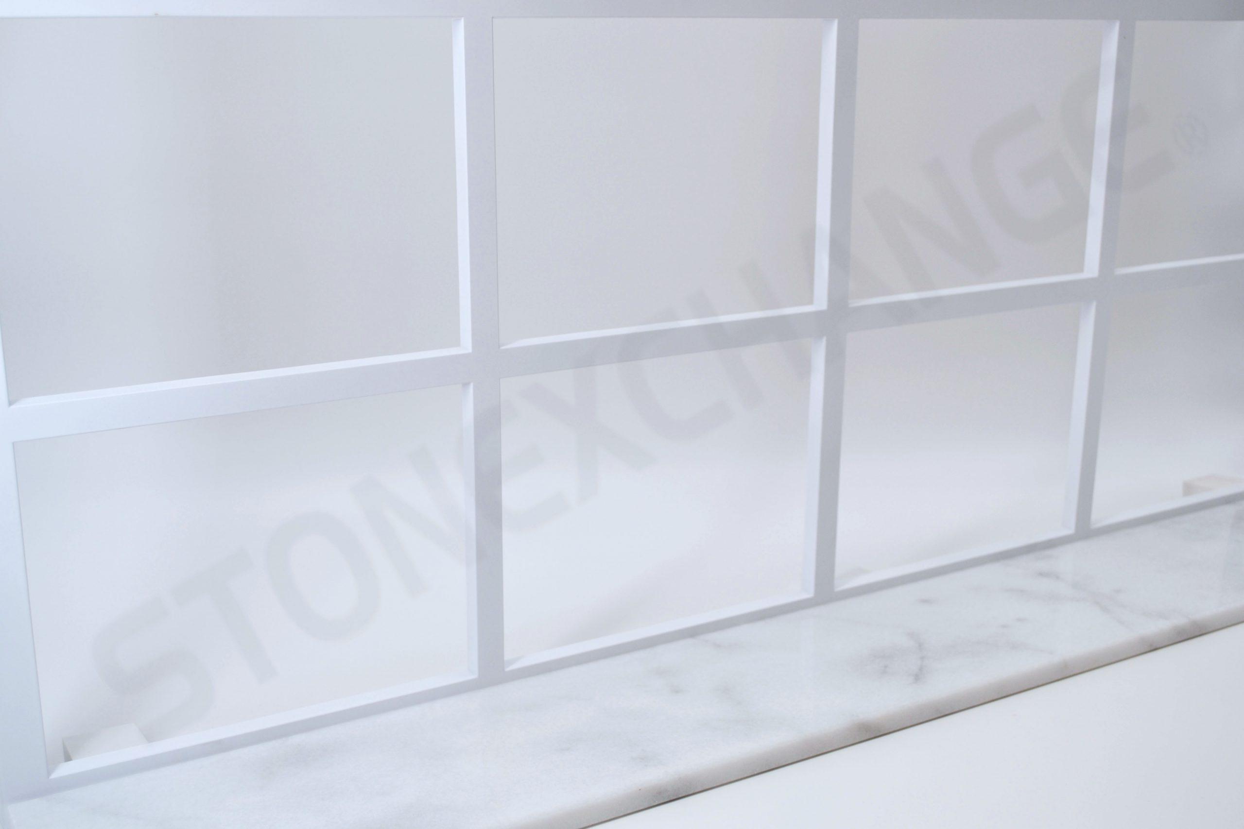 White Carrara Window Sill