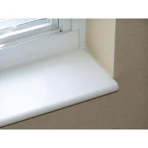 Pure White Window Sills