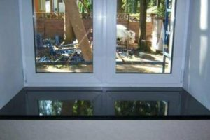 Black Granite Window Sills