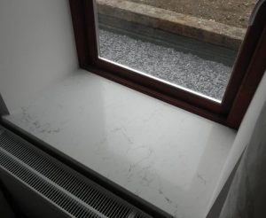 White Carrara Marble Window Sills